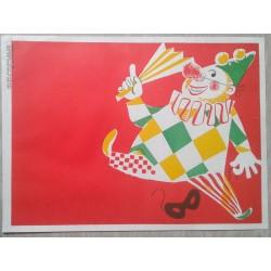 Affisch - Klown