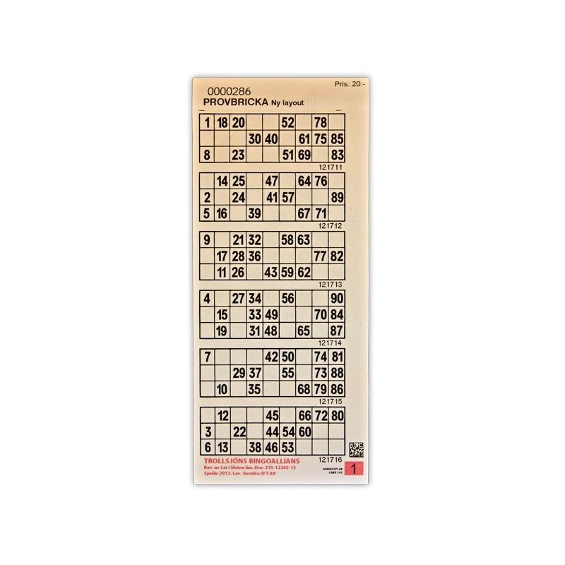 SE-Bingo-kuponger