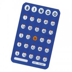 Plast bingobricka